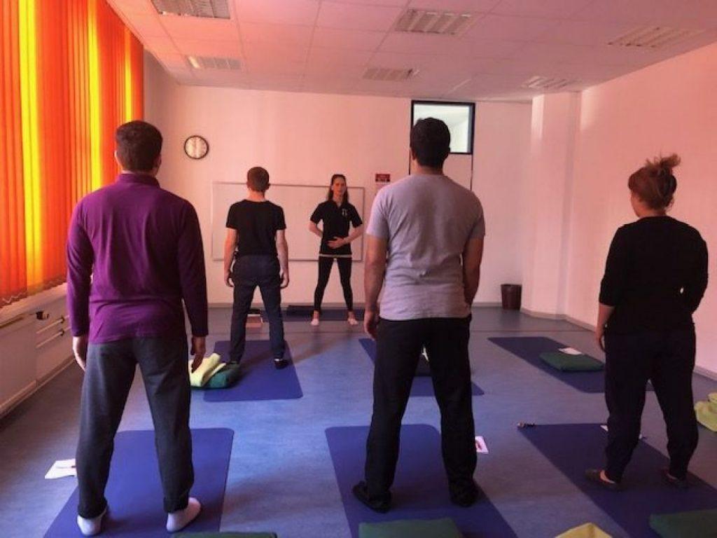 Tamarkos®-Workshop an der Volkshochschule Düsseldorf (12.10.19)
